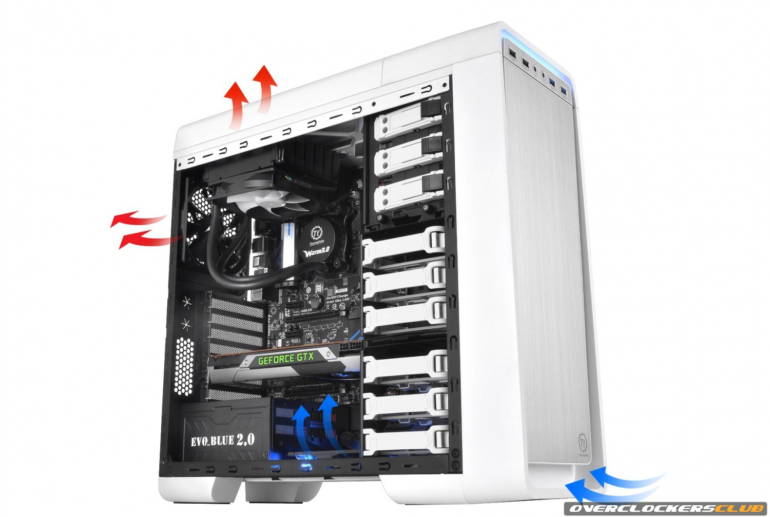 Stylish and Silent Chassis From Thermaltake Announced