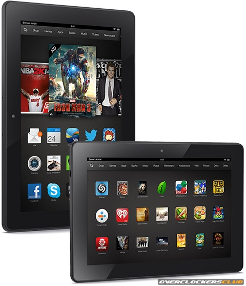 Amazon Announces 7 and 8.9-inch Kindle Fire HDX Tablets; Also Remodels and Reduces Price of Fire HD