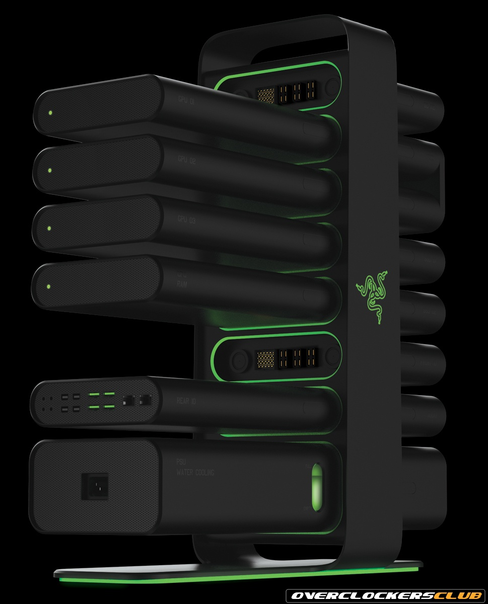Razer Introduces Project Christine - A Modular PC Concept Design