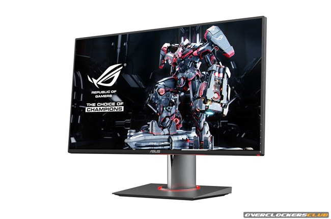 Gaming Monitor From ASUS' ROG Division Announced