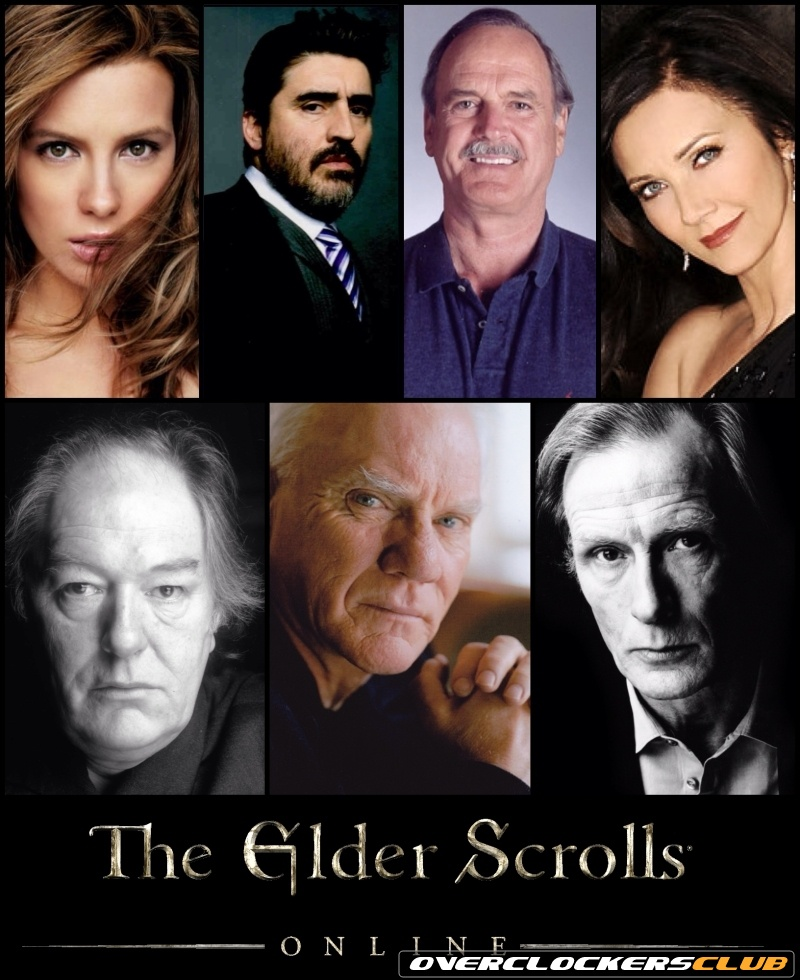 The Elder Scrolls Online's Impressive Voice Cast Revealed