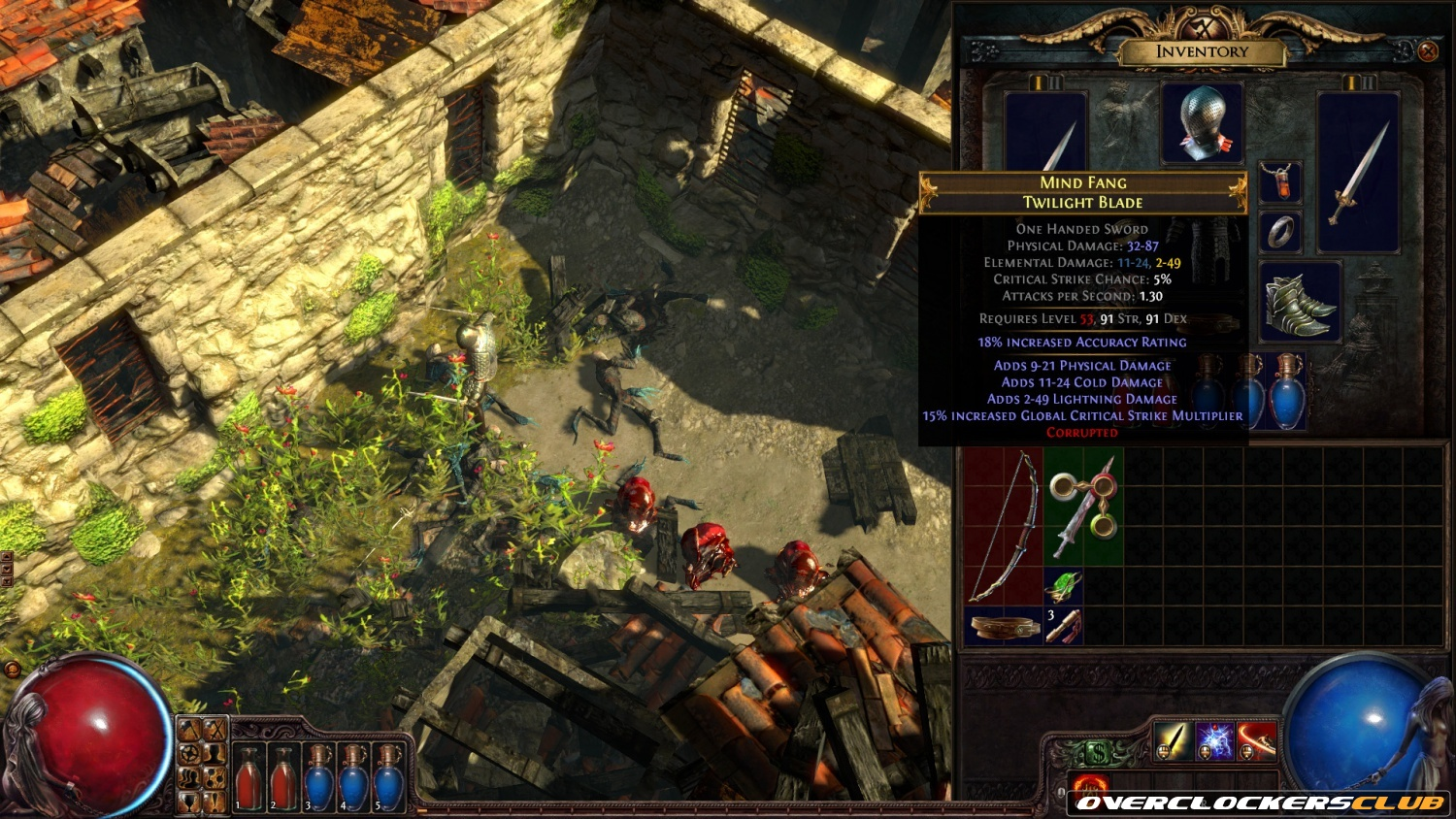 First Teaser Screenshot of Path of Exile: Sacrifice of the Vaal Released