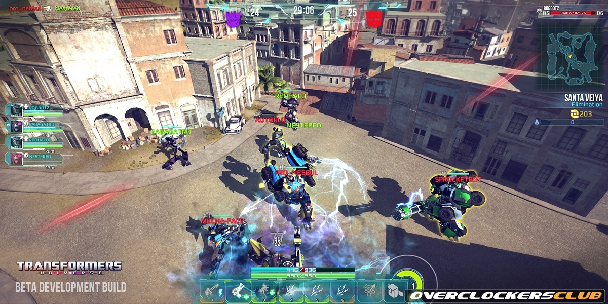 Jagex Unveils Autobot Meltdown and Decepticon Duststorm for Transformers Universe