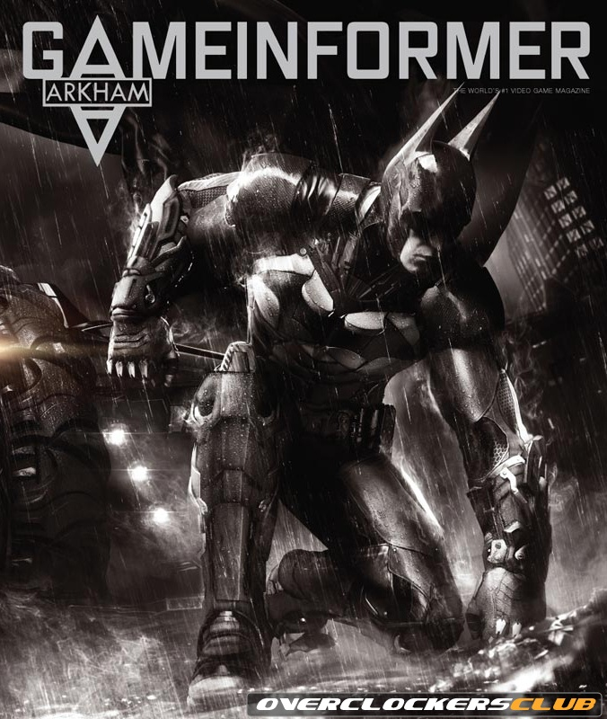 First Look at Rocksteady's Batman: Arkham Knight in April 2014 Game Informer; Official Trailer Released
