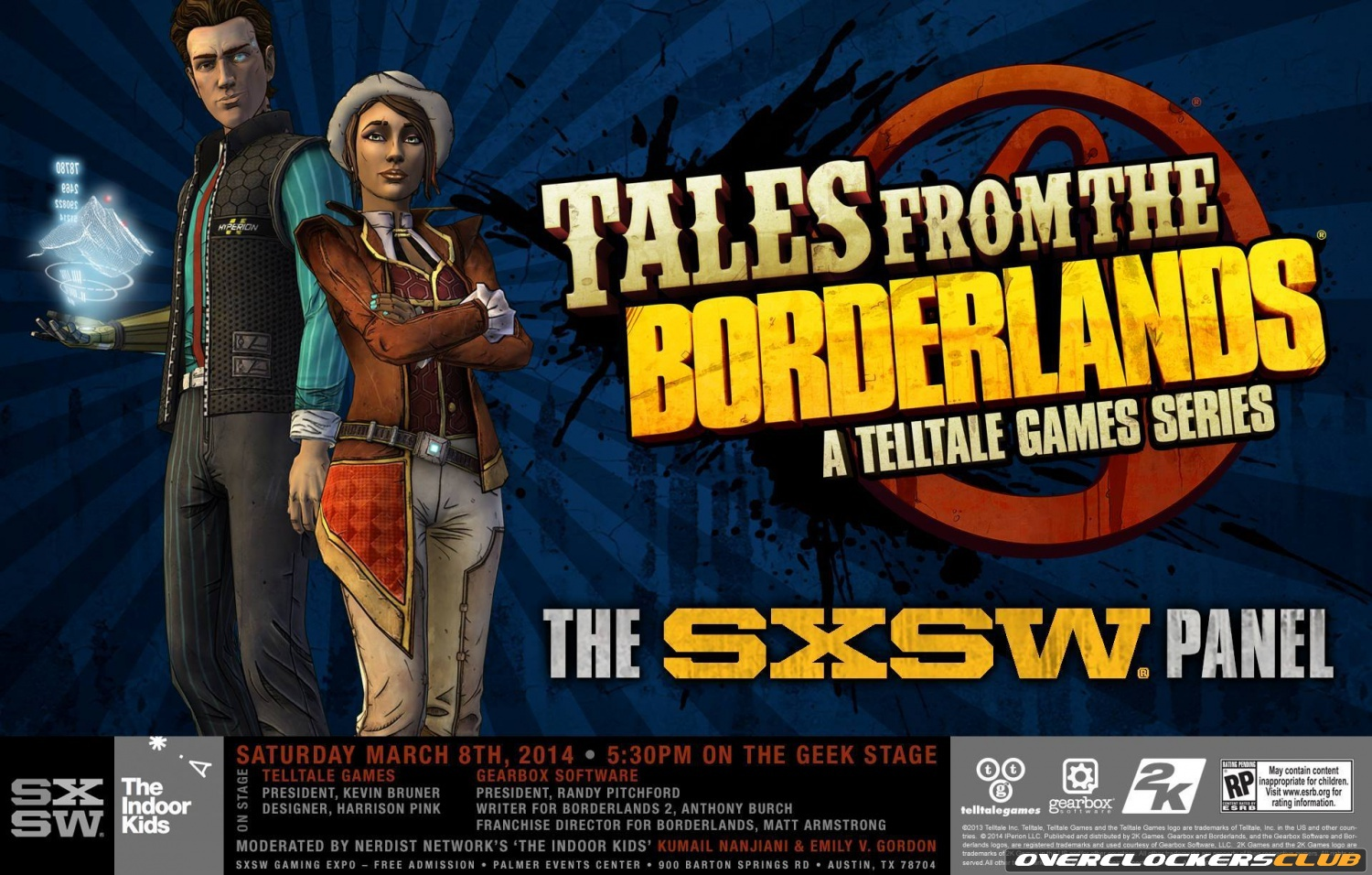 Tales from the Borderlands SXSW Panel Now Available Online