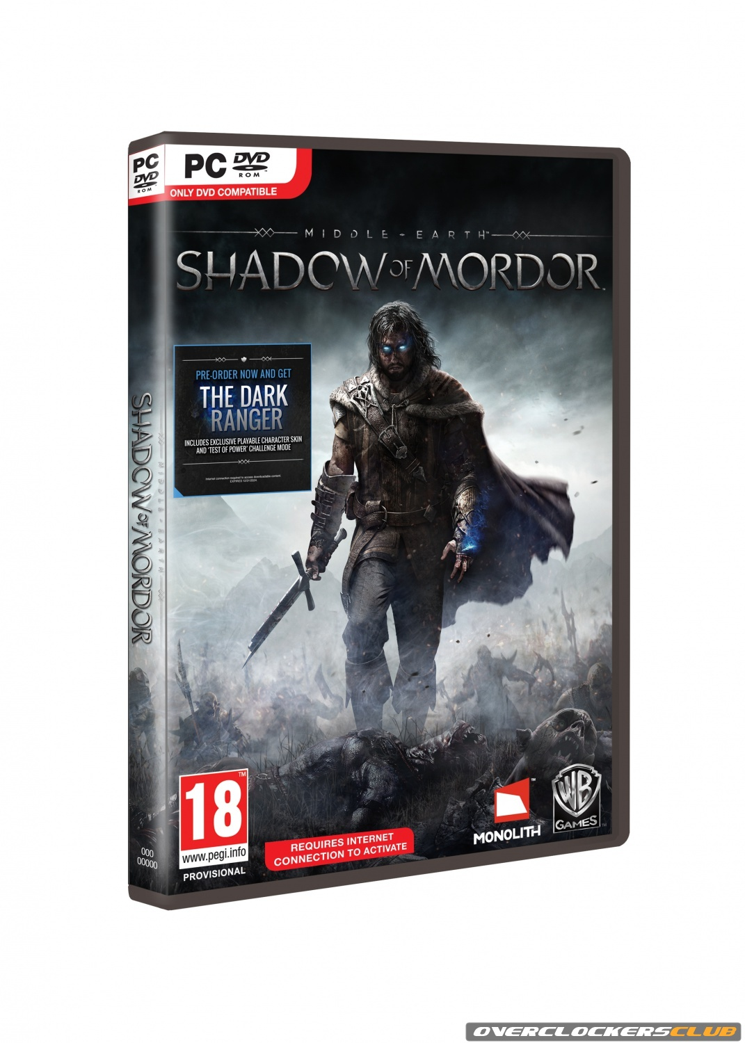 Middle-earth: Shadow of Mordor Releasing October 7; Story Trailer, Box Art, and Pre-order Bonus Revealed