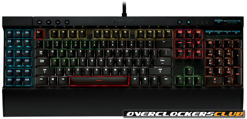 Corsair Introduces Two New Keyboards Powered by Cherry MX RGB Switches