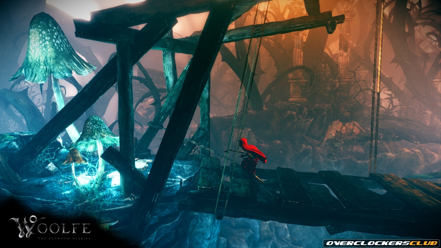 Read dark fairy tale platformer woolfe: the redhood diaries coming to