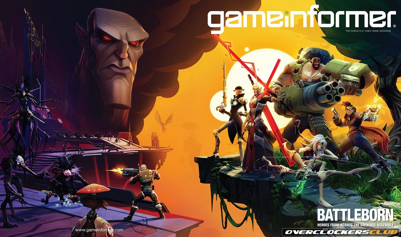 Gearbox Announces Battleborn, an FPS-MOBA Hybrid for PC, PS4, and XBO